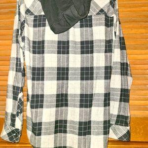 Empyre flannel zipup L